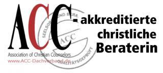 ACC-akkreditierte christliche Beraterin